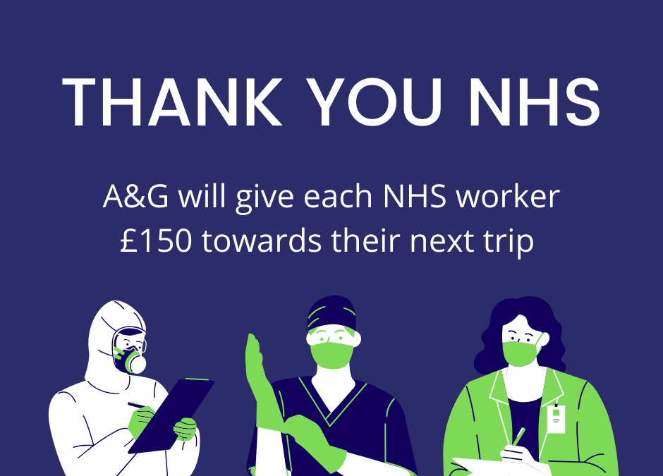 A&G WILL GIVE NHS EMPLOYEES £150